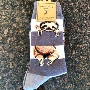 Accessories - Sloth Cartoon Character Unisex Novelty Socks